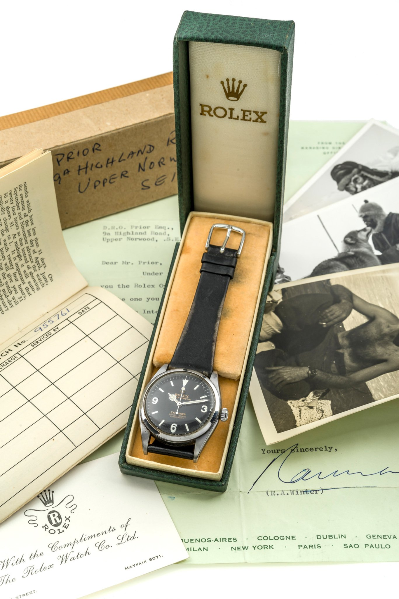 this Explorer reference 6350 is probably the most interesting Rolex coming up for auction (photo courtesy of Antiquorum)