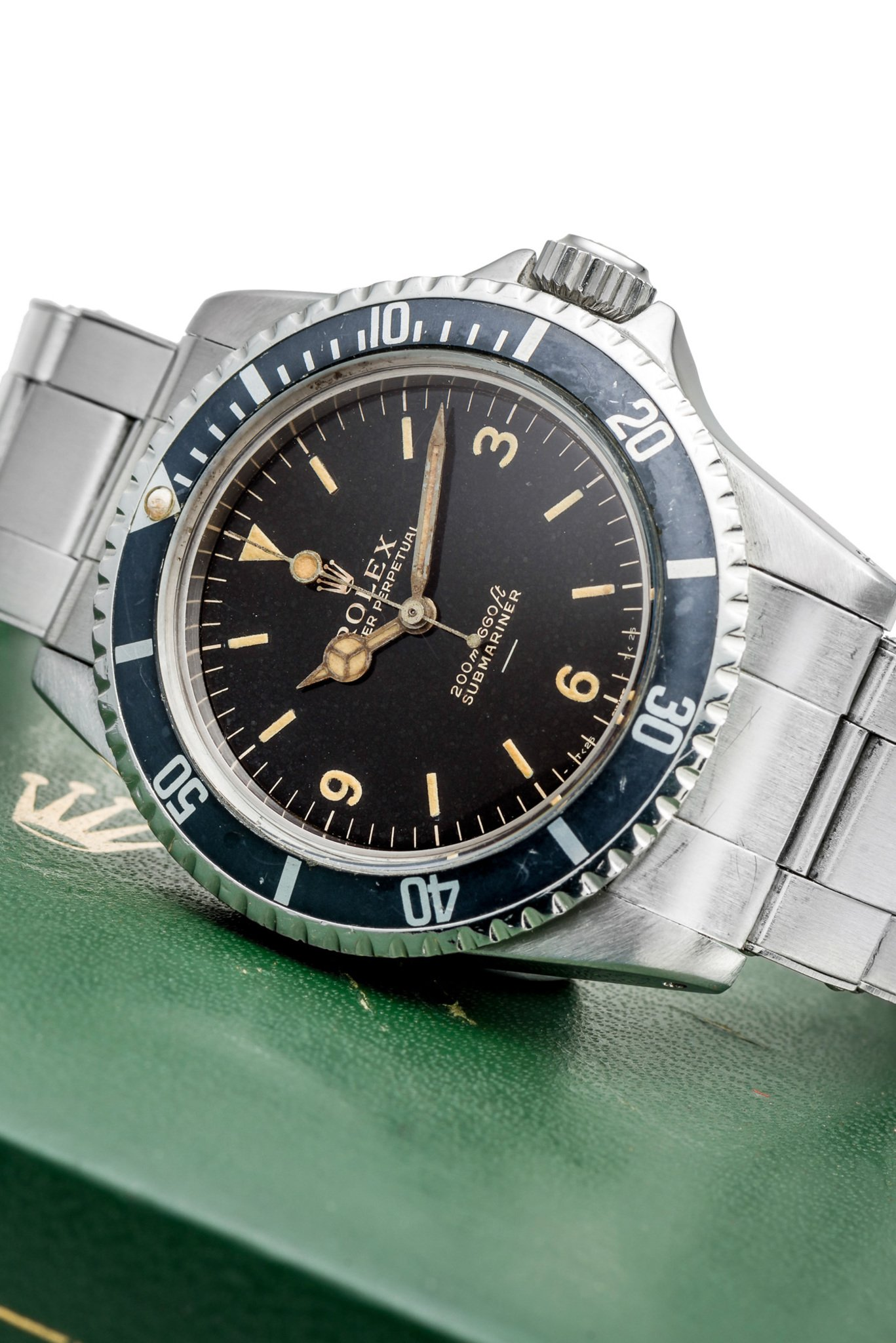 A rare and unique Rolex Submariner ref. 5512 (photo courtesy of Antiquorum)