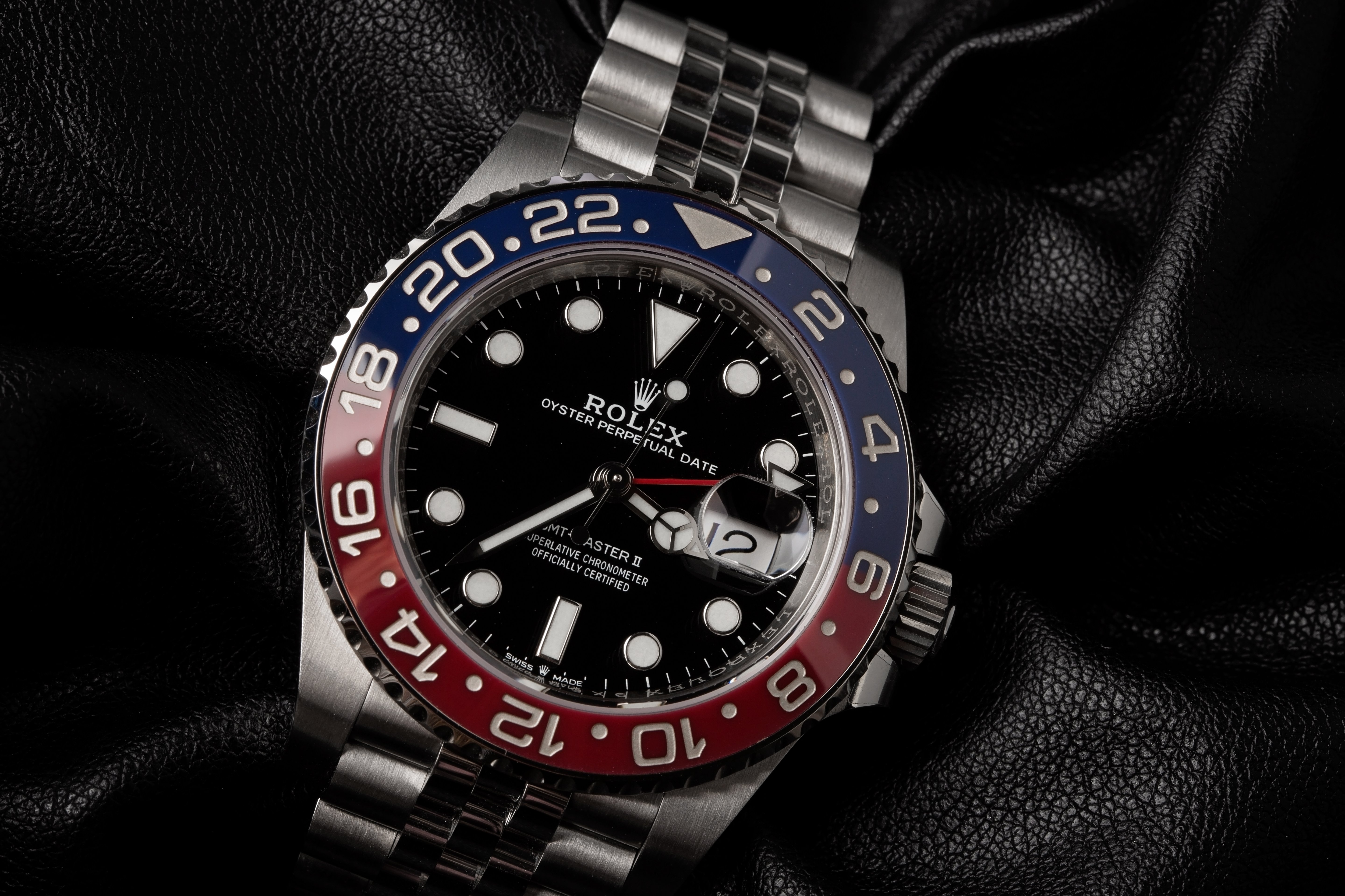 Stainless Steel Watches Rolex GMT-master II 126710 BLRO Pepsi