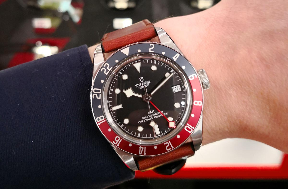 Tudor submitted their Black Bay GMT for the GPHG awards ceremony