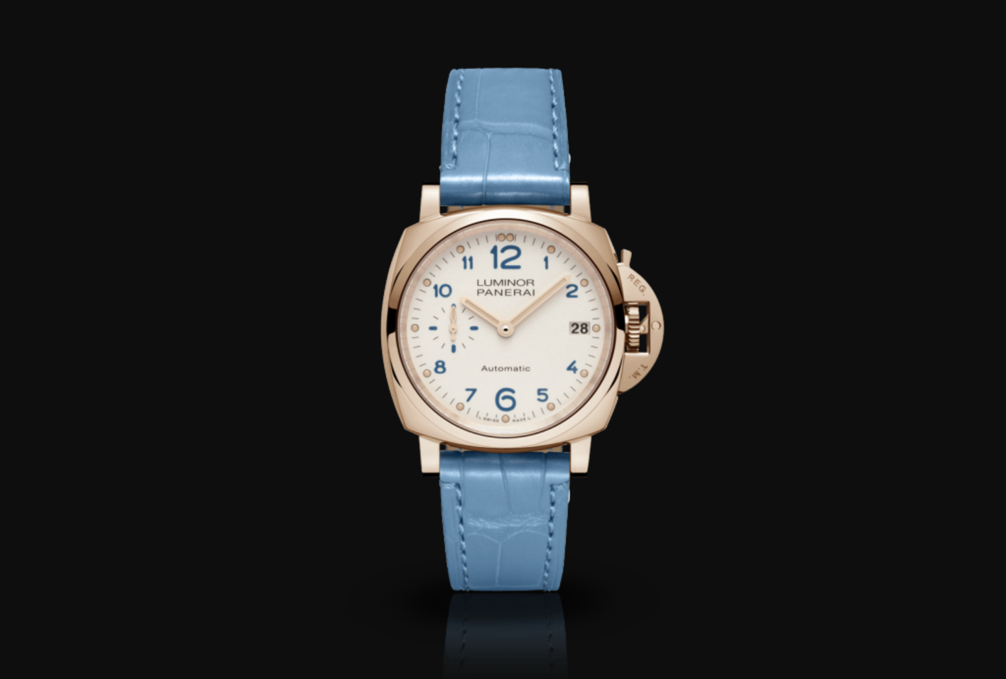 This is the first time a Panerai watch has been made under 38mm