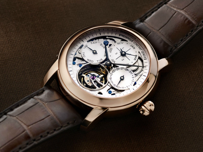 This watch is noteworth for its tourbillon.