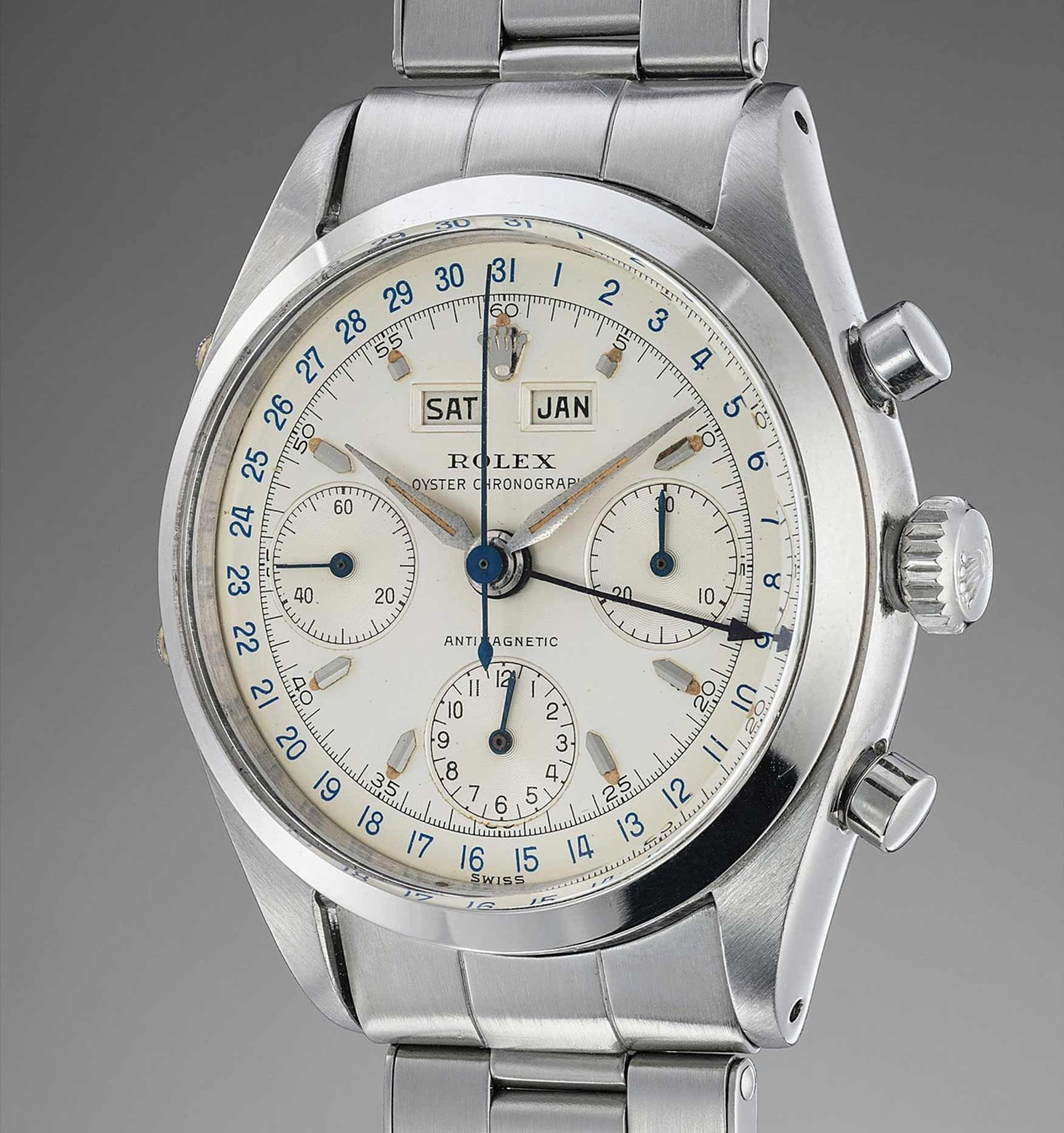 This Pre-Daytona Chronograph is sure to exceed estimates(photo courtesy of Phillips)