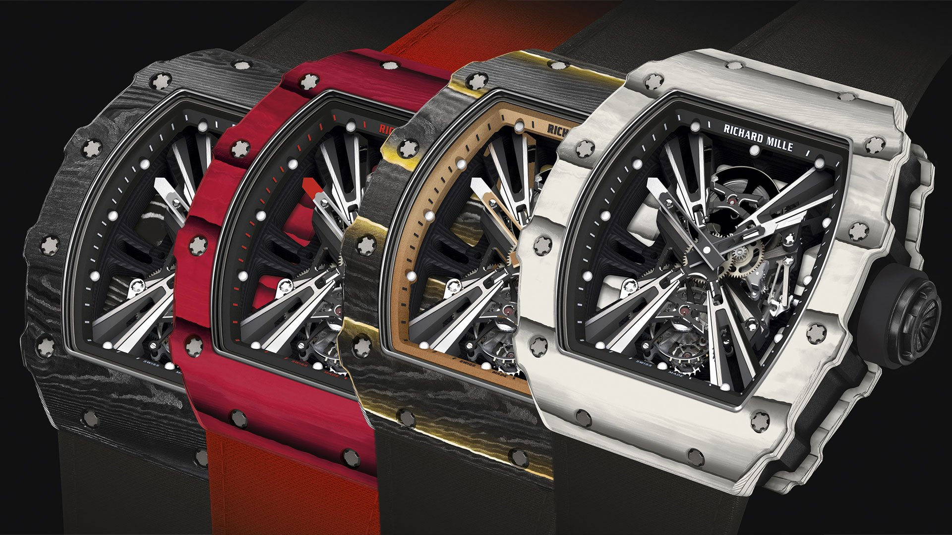 Up Close With The Limited Edition Richard Mille Rm 12 01 Tourbillon