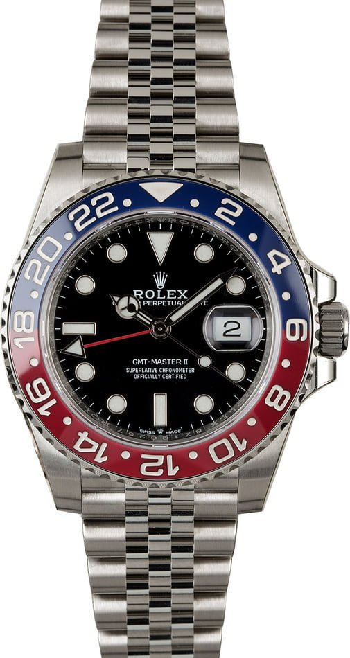The Rolex GMT-Master II 126710, released earlier this year, will be up for auction