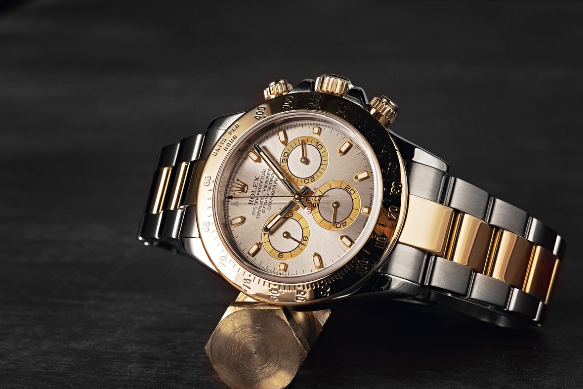 Two-Tone Rolex Daytona 116523 Steel and Gold