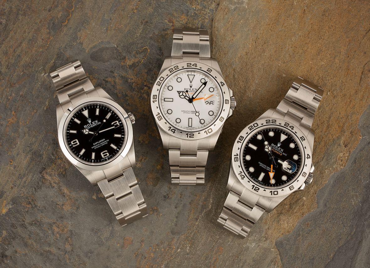 Rolex Explorer vs Rolex Explorer II Watches
