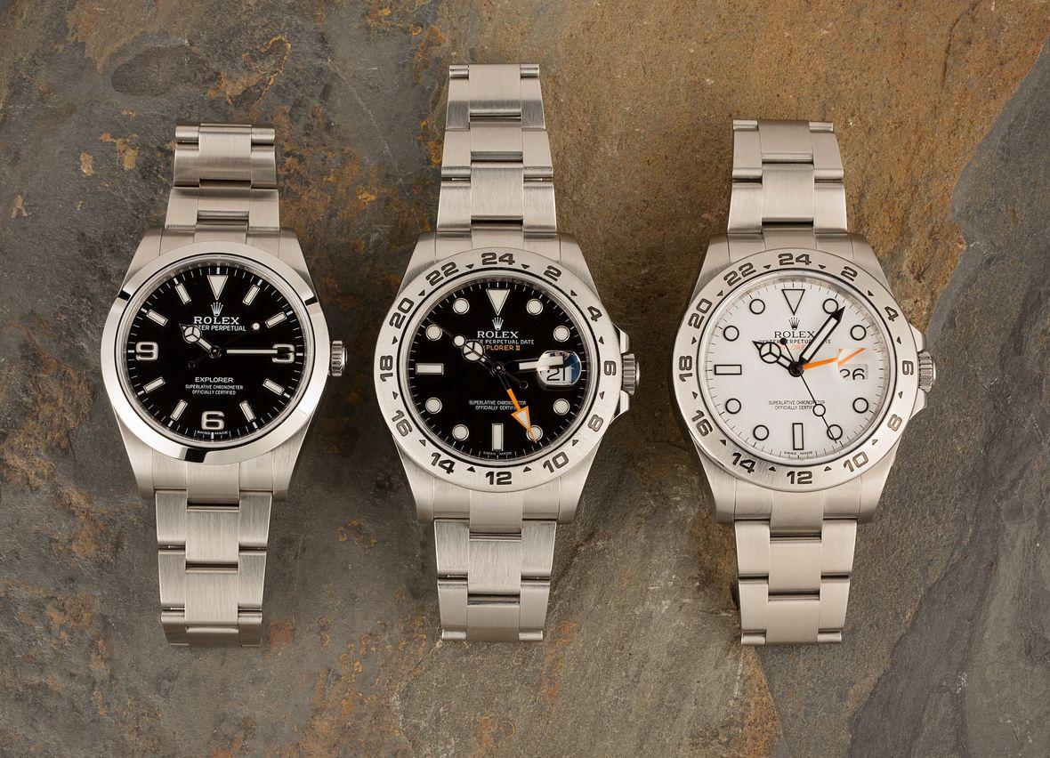 Rolex Explorer vs Rolex Explorer II Watches Comparison