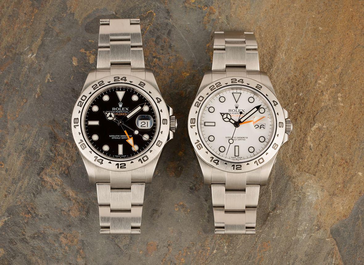Rolex Explorer vs Explorer II 214270 Black vs White Dial
