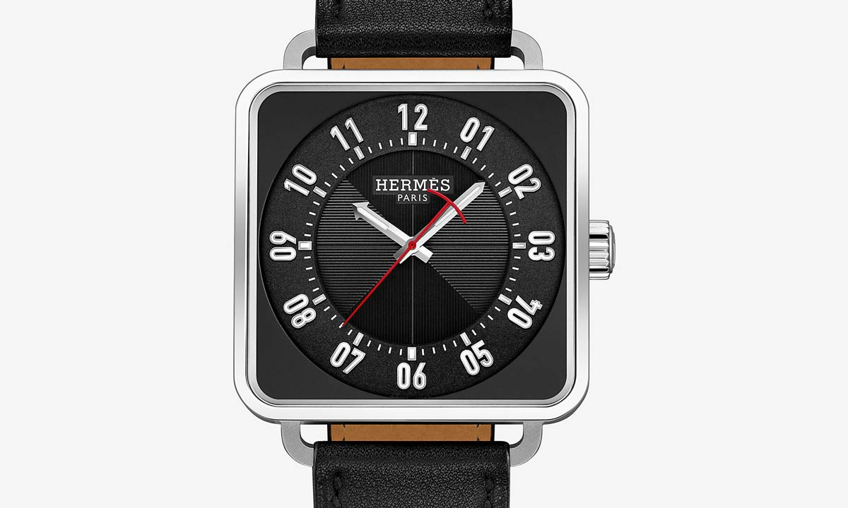 Square watches HermesCarre H