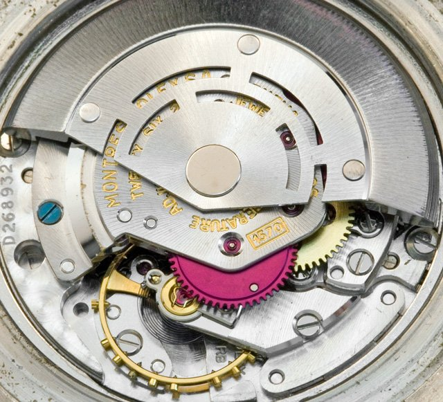 Rolex wanted to put an Oysterquartz movement in this watch, but the technology hadn't been perfected yet