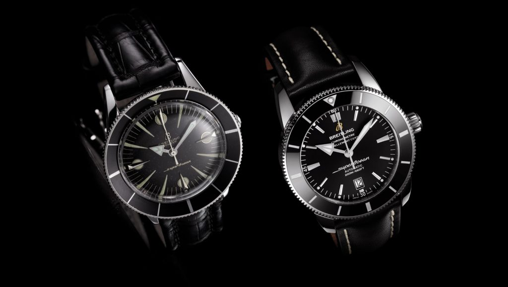 8dd408faa86 The Breitling Superocean takes a few notes from the Blancpain fifty fathoms