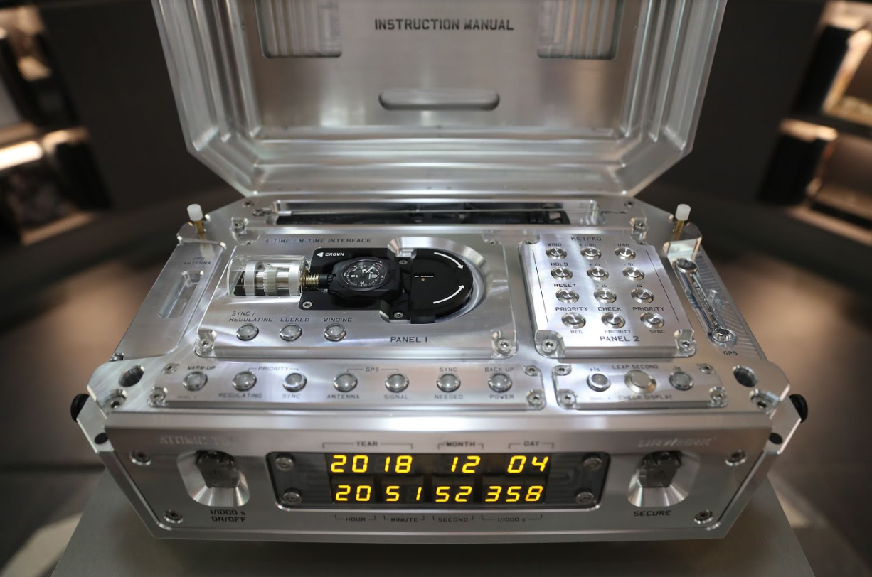 Urwerk's Atomic Clock