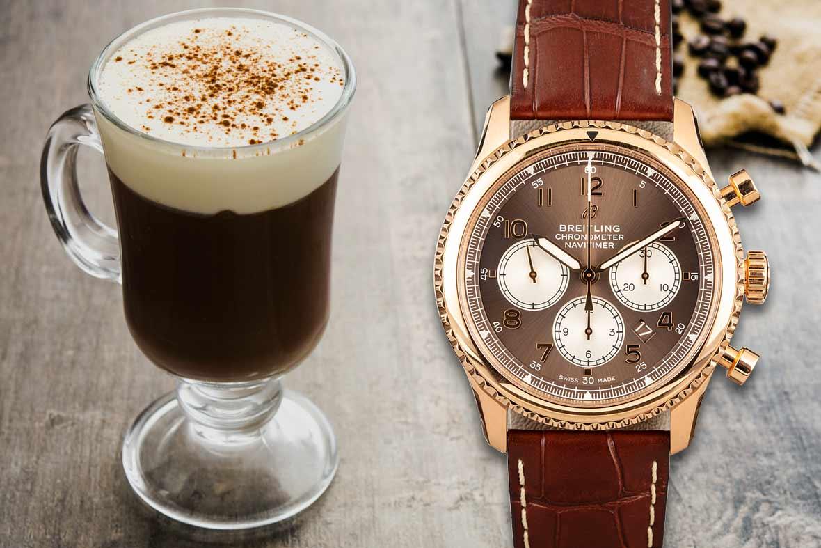 Irish Coffee and Breitling Navitimer 8 B01 Chronograph