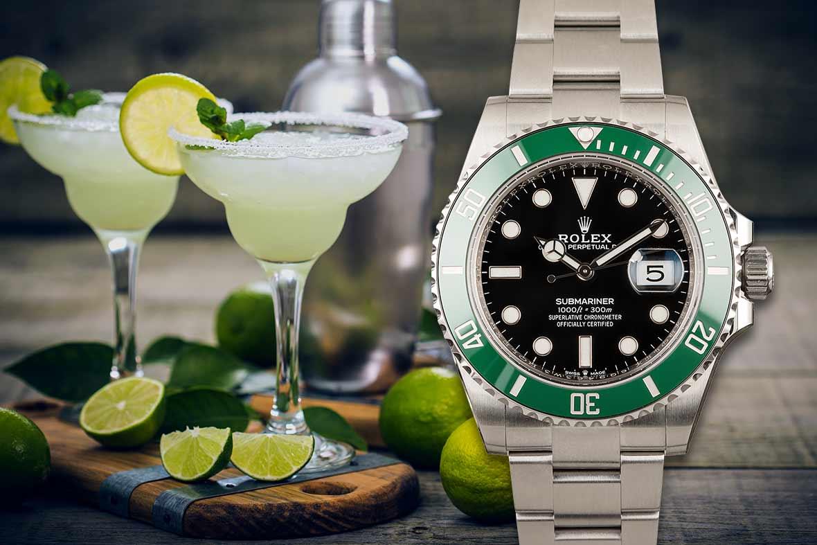 Margarita and Rolex Submariner Date