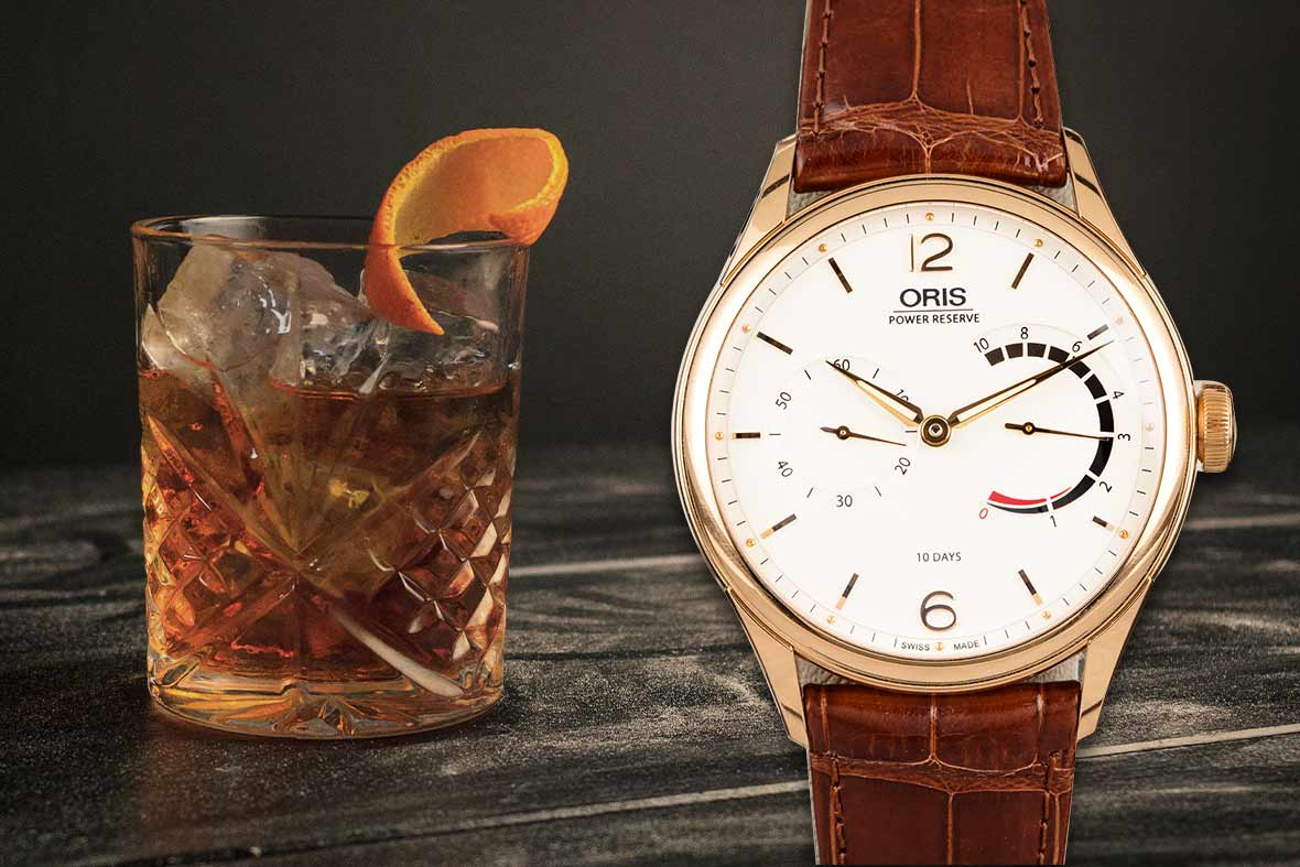 Old Fashioned and Oris Artelier 110 Years Limited Edition