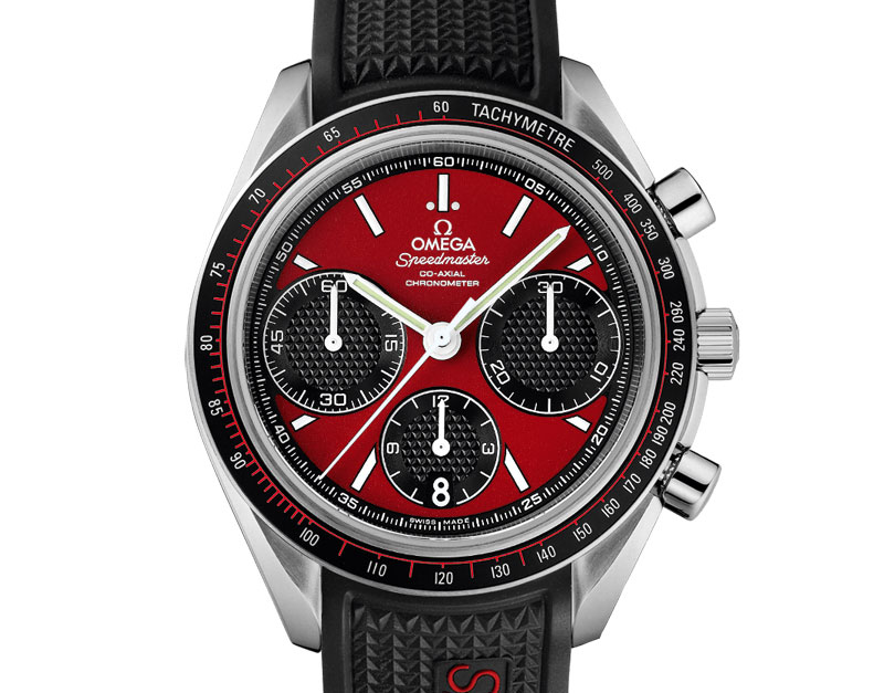 Omega Speedmaster Red Co-Axial Chronograph