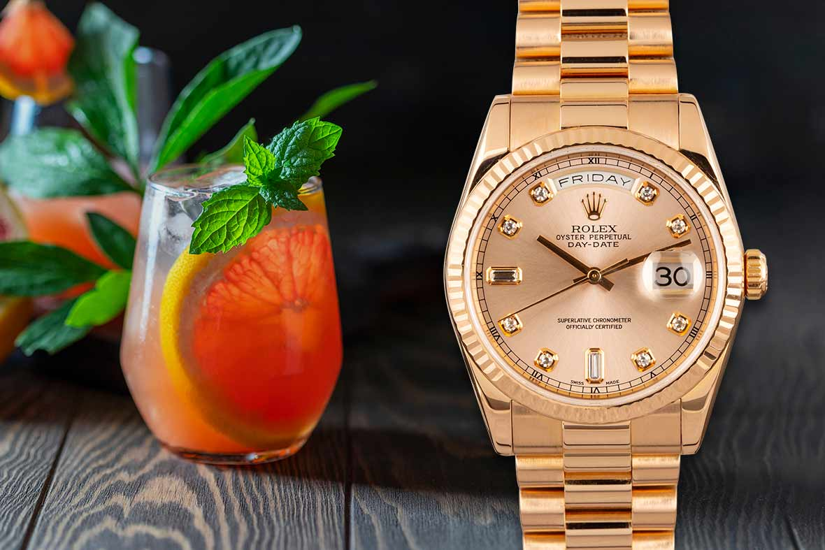 Paloma and Rolex Day-Date President