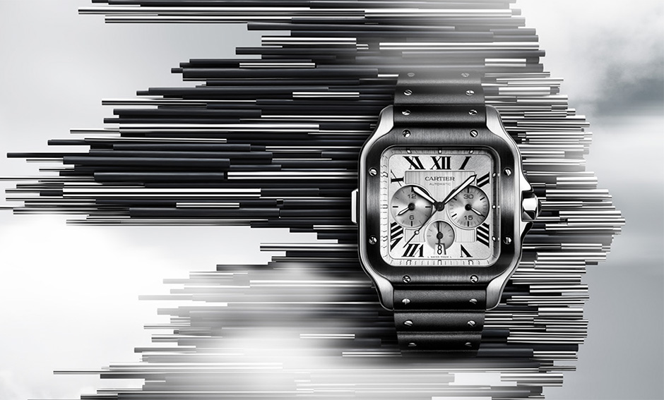 Square watches - Cartier Santos