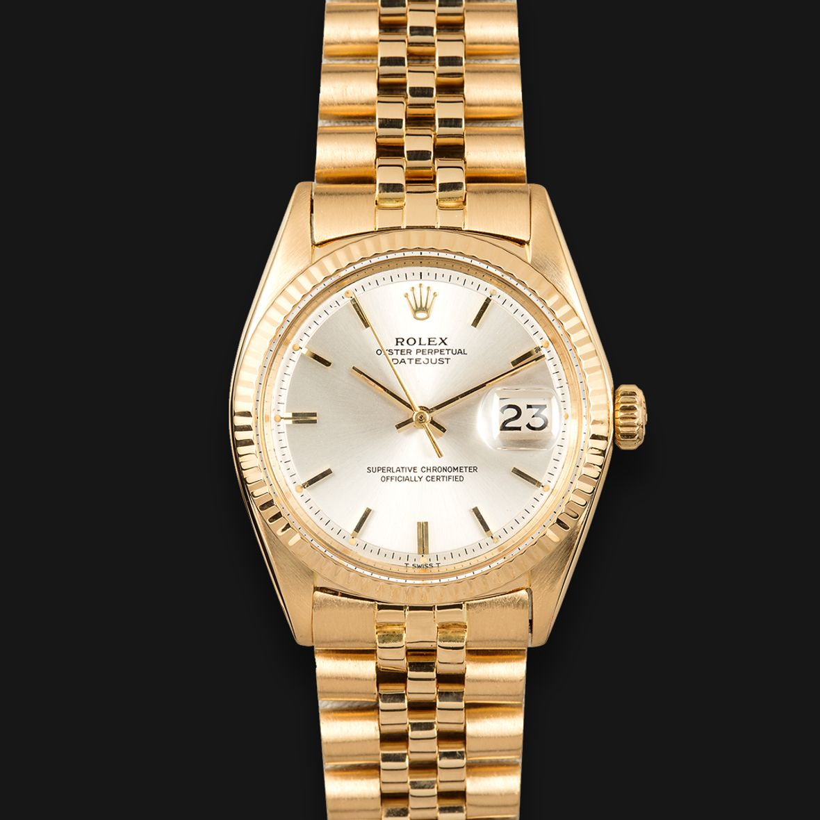 Dr Martin Luther King Jr Gold Rolex Datejust 1601