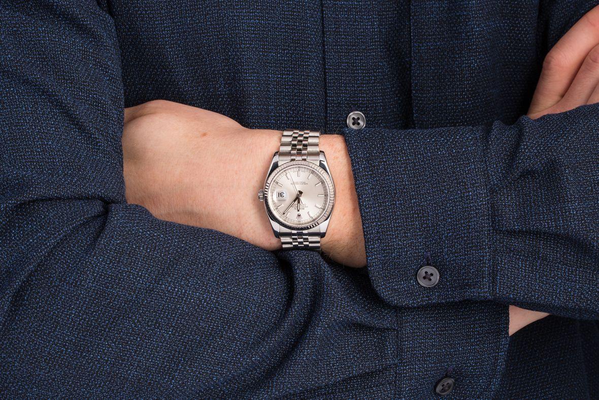 White Rolesor Rolex Datejust 36mm Price 116234 Jubilee Bracelet