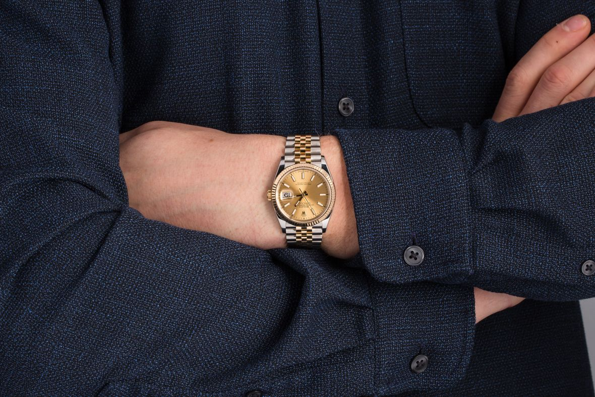 Two-Tone Rolex Datejust 36 Price 126233 Jubilee Bracelet