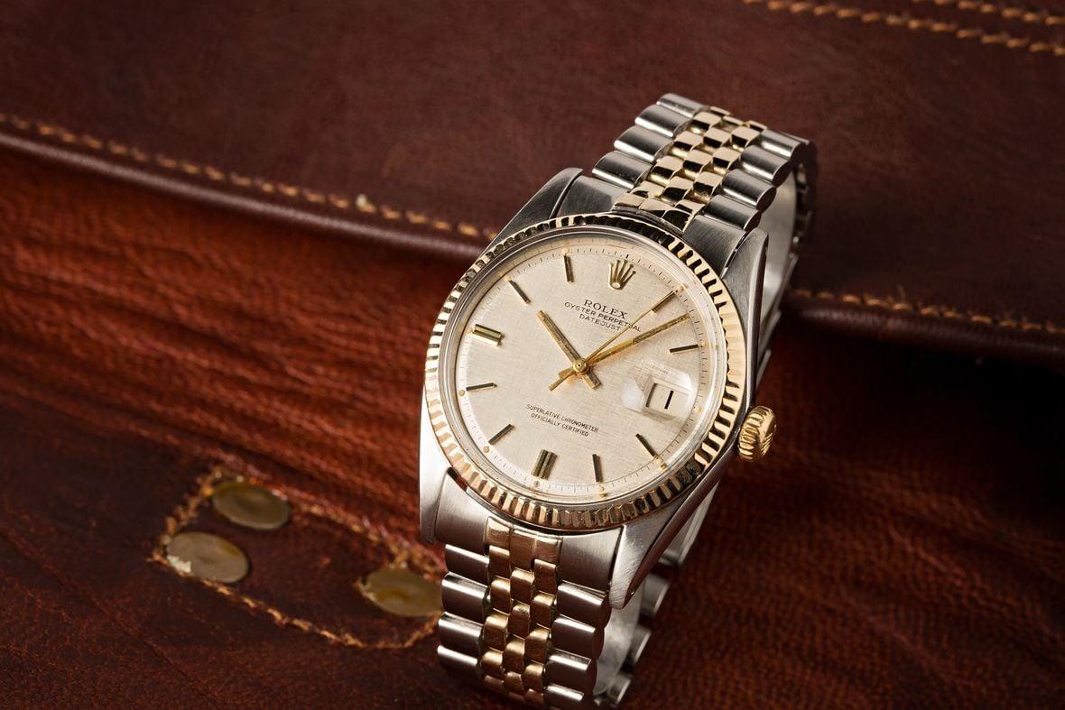 Vintage Rolex Datejust Price Two-Tone 1601