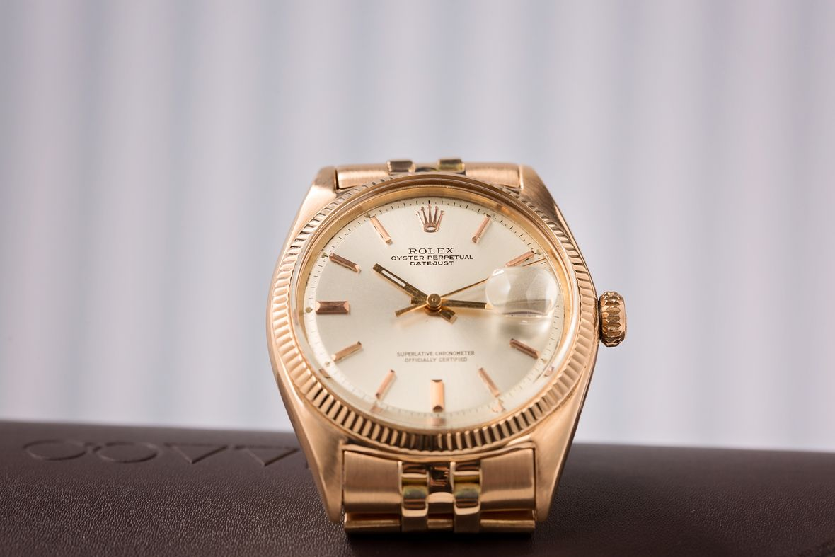 Martin Luther King Gold Rolex Datejust Reference 1601