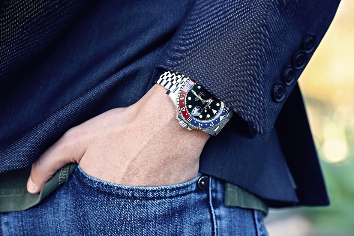 Rolex Pepsi vs Tudor Pepsi GMT Watch Comparison 126710 BLRO