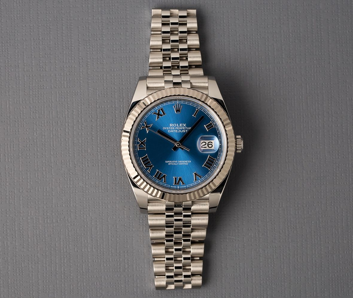 Blue Rolex Datejust 41 Price 126334