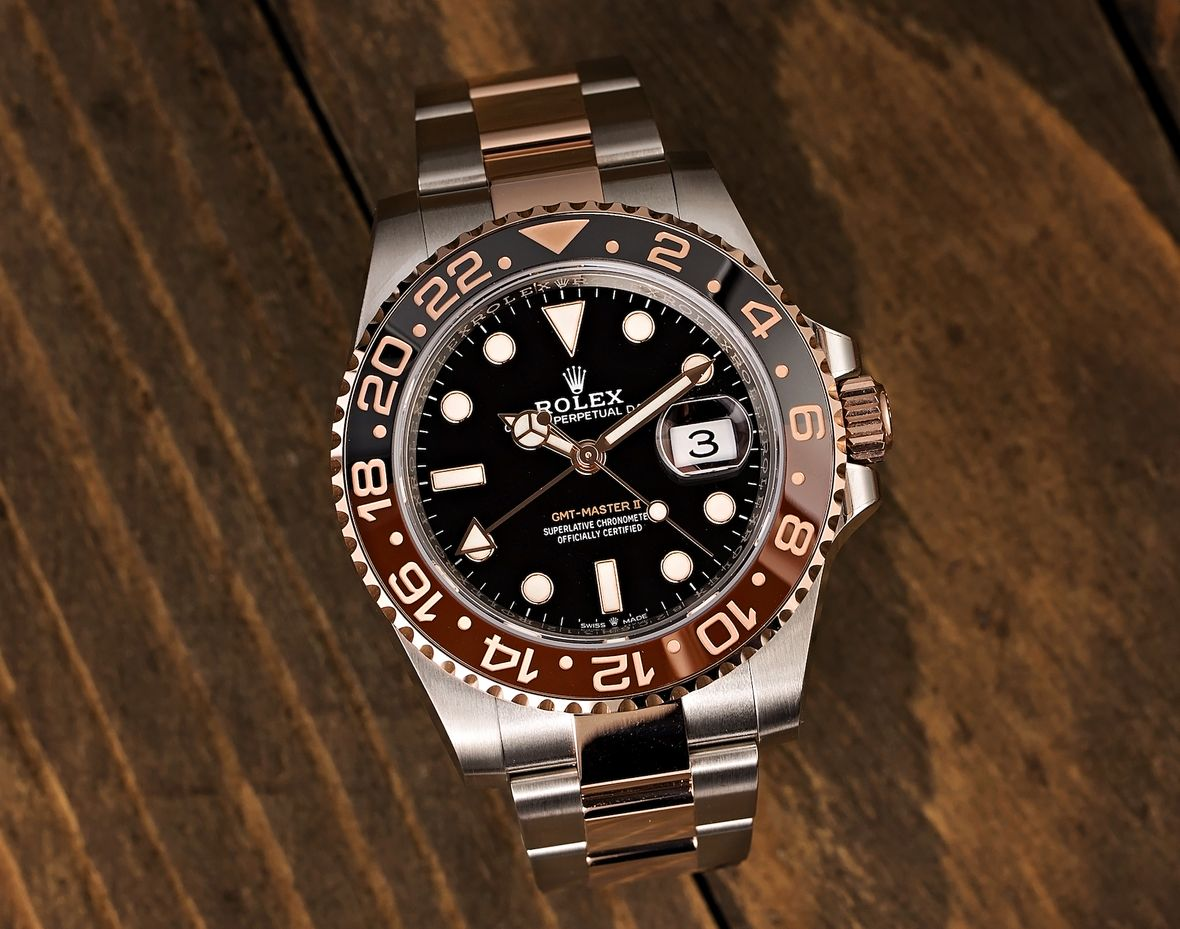 Two-Tone Rolex GMT-Master II Root Beer 126711CHNR