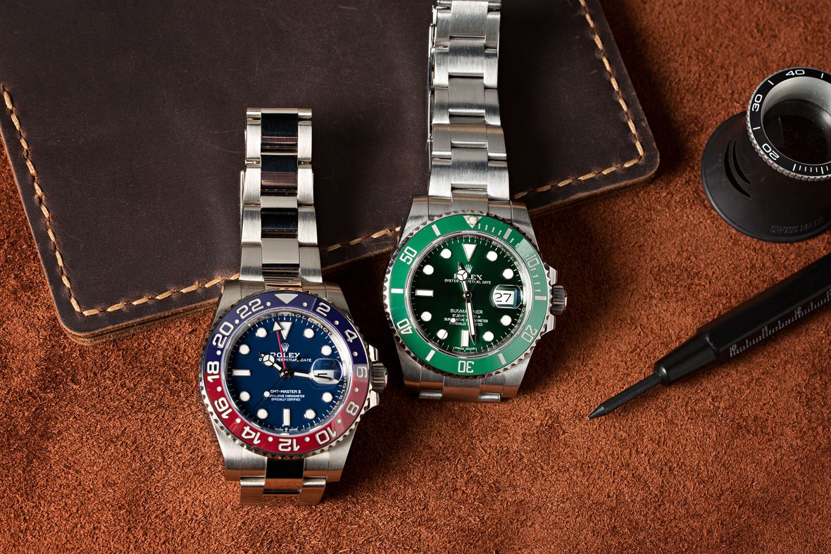 Rolex Reference Numbers Letters Guide White Gold Pepsi GMT-Master II 126719BLRO Hulk Submariner 116610LV