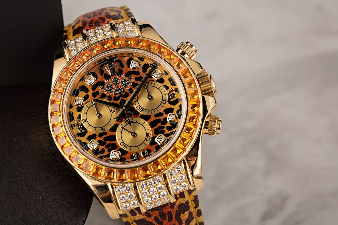Rolex Reference Numbers Letters Guide Leopard Daytona 116598SACO