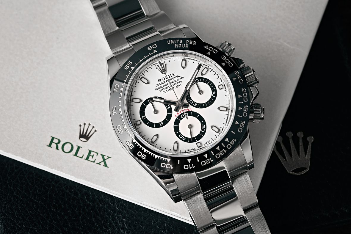 Rolex Reference Numbers Letters Guide Stainless Steel Ceramic Daytona 116500LN