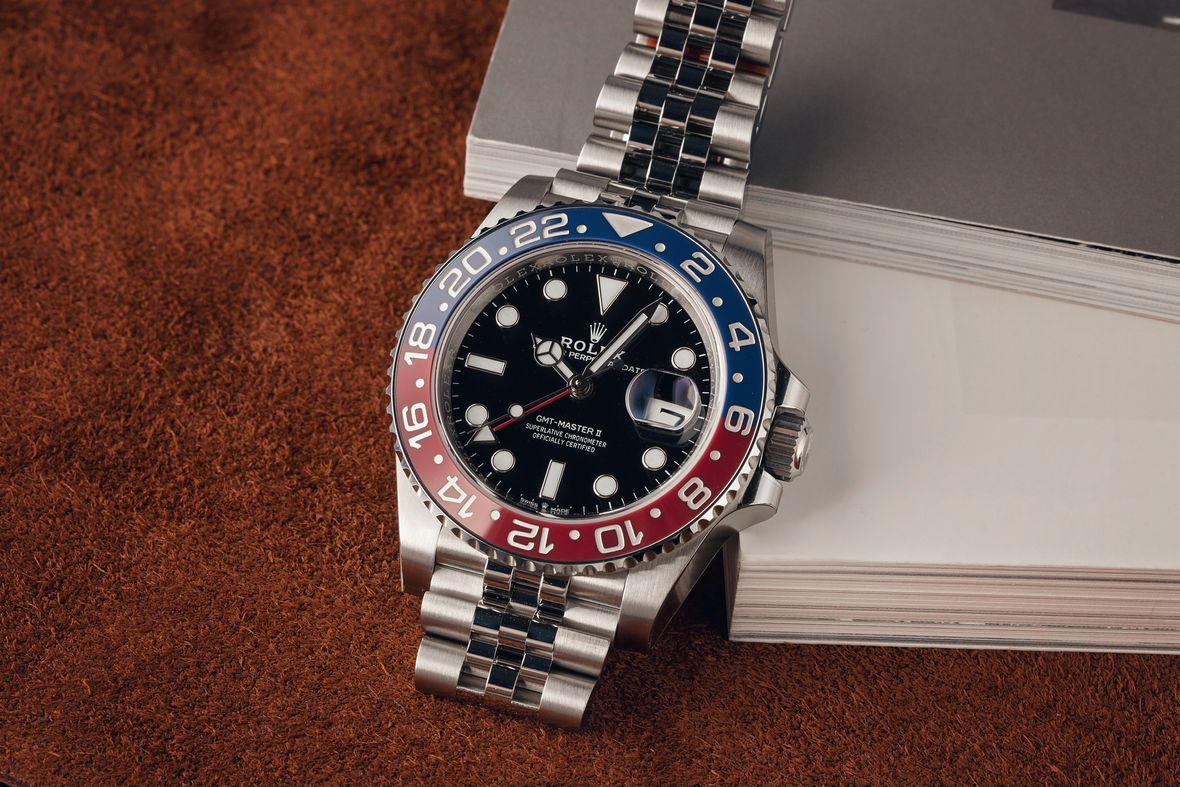 Rolex Reference Numbers Letters Guide Pepsi GMT-Master II 126710BLRO Jubilee Bracelet