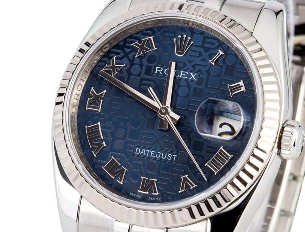 Rolex Jubilee dial