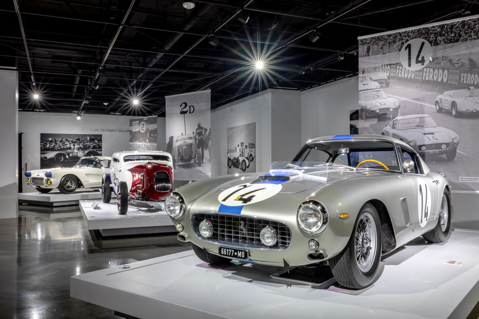 Rolex Sponsors an Exhibition of the World's Top Race Cars in Los