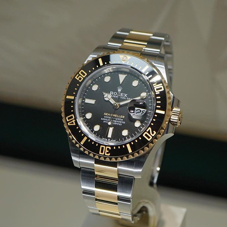 Two-Tone Rolex Sea-Dweller