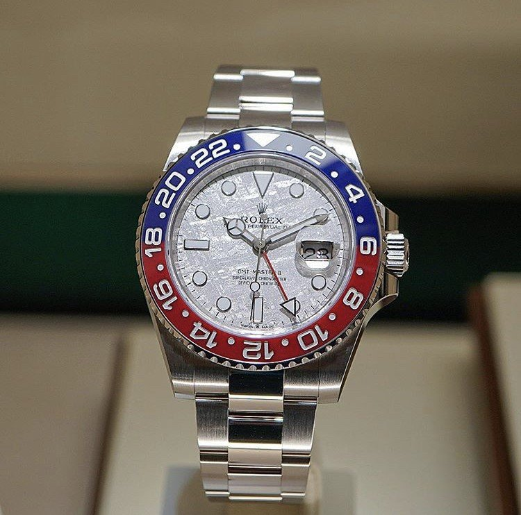 """Baselworld 2019: Rolex """"Pepsi"""" GMT-Master II with Meteorite Dial"""