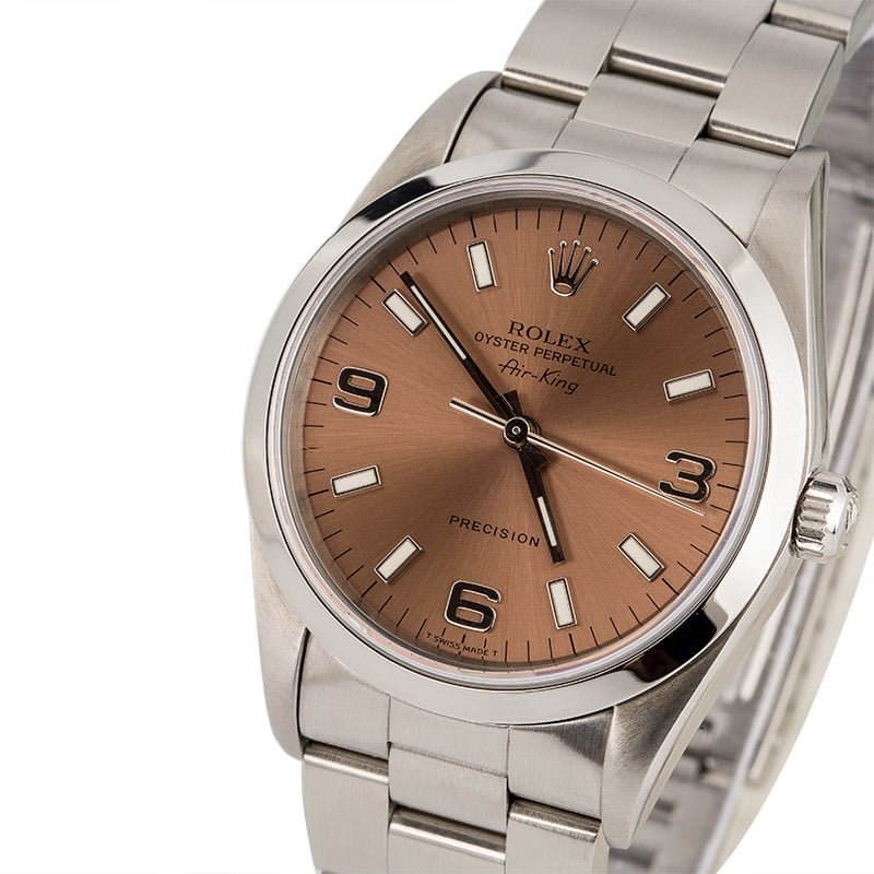 ed8cab4ec7d The Appealing Simplicity of the Rolex Air-King 14000 - Bob s Watches