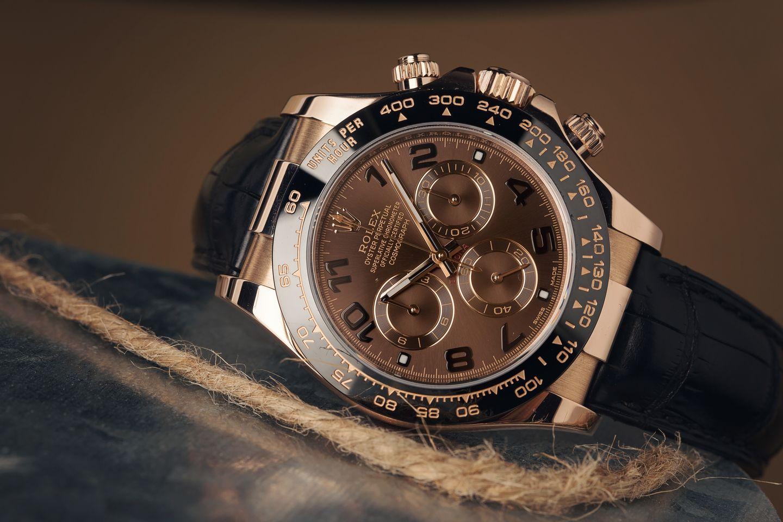 Everose Gold Rolex Daytona