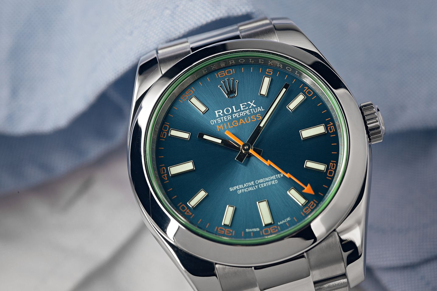 Antimagnetic Rolex Watches Milgauss 116400 vs Air-King 116900 Antimagnetic