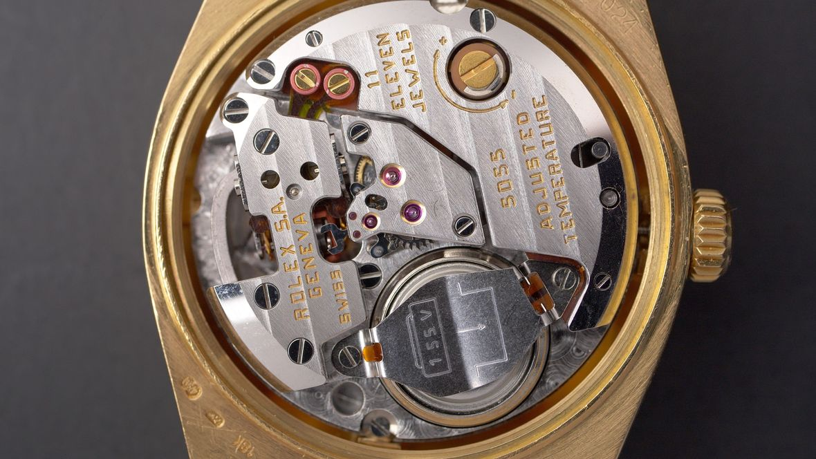 Rolex Myths Quartz Watch Movement Oysterquartz