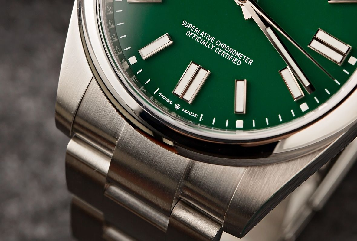 Rolex Myths Oyster Perpetual 41 Green Dial