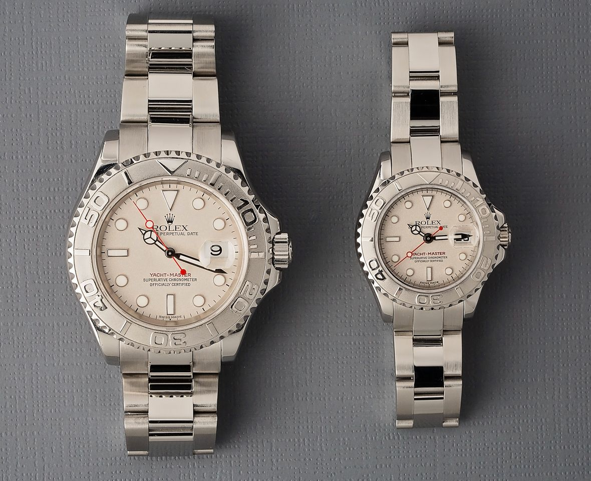 How Many Rolex Yacht-Master Sizes Are There Now?