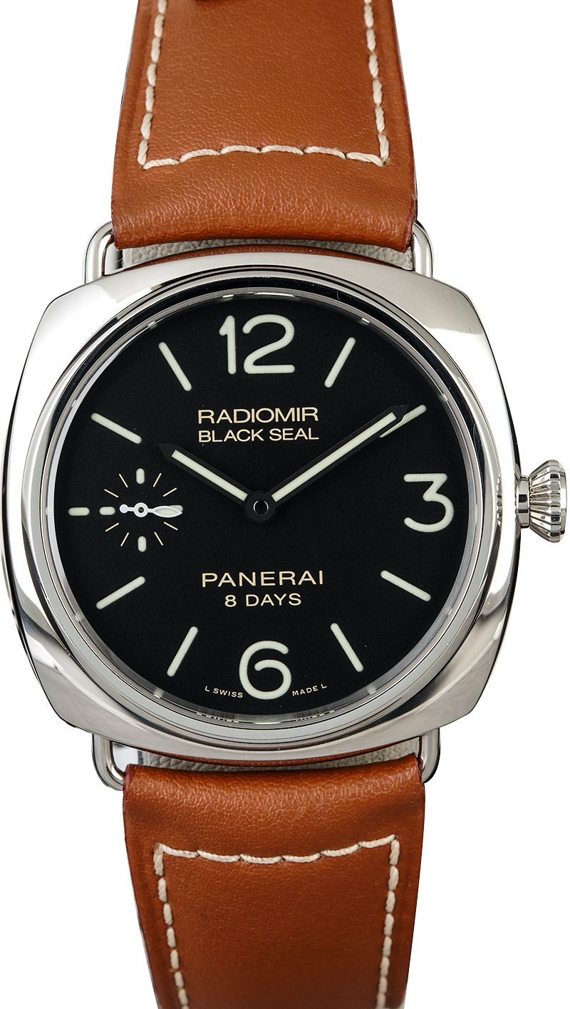 Panerai Radiomir Black Seal 8 Days PAM00609