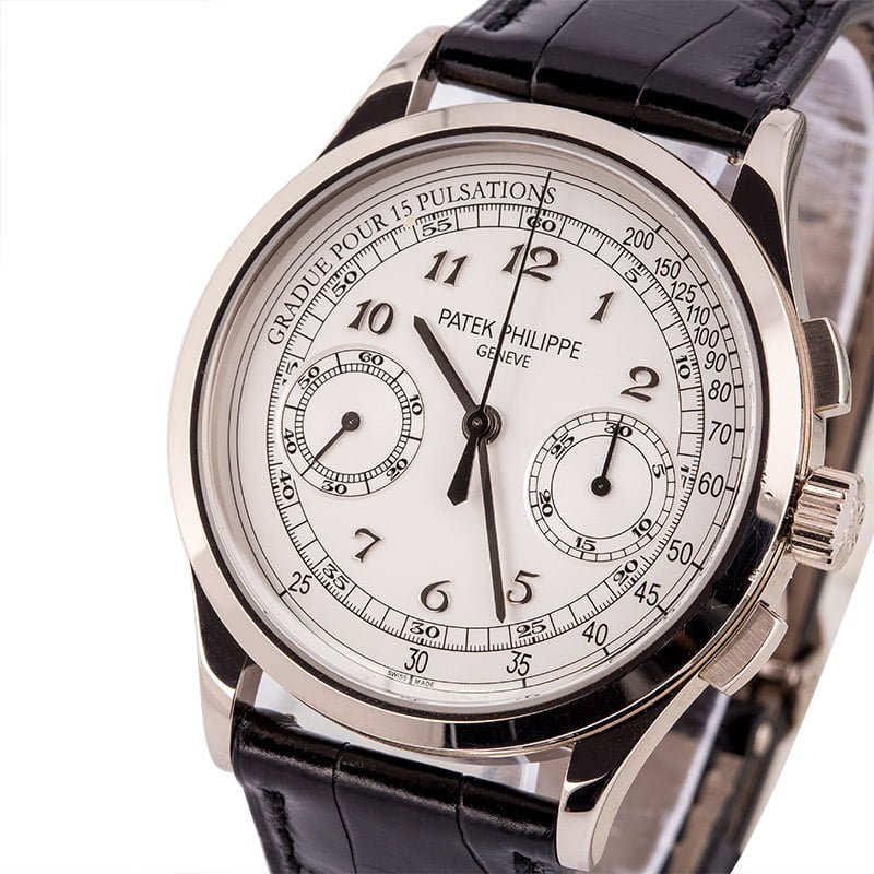 There Are High End Chronographs And Then There S The Patek Philippe