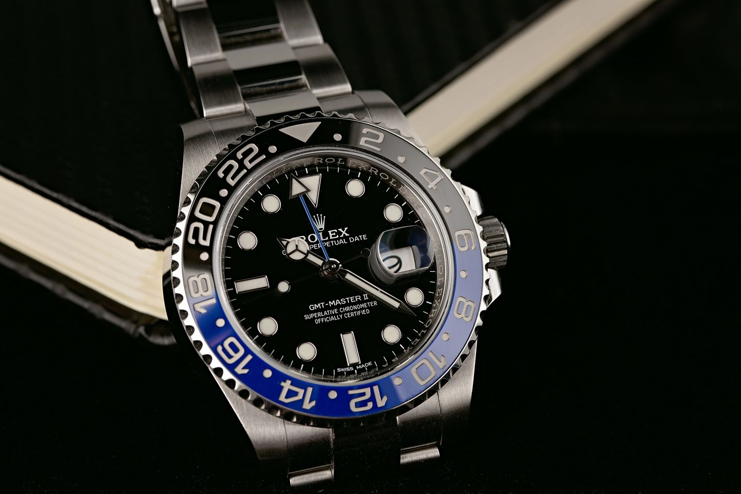 Rolex Tool Watches - Batman GMT-Master 116710 BLNR