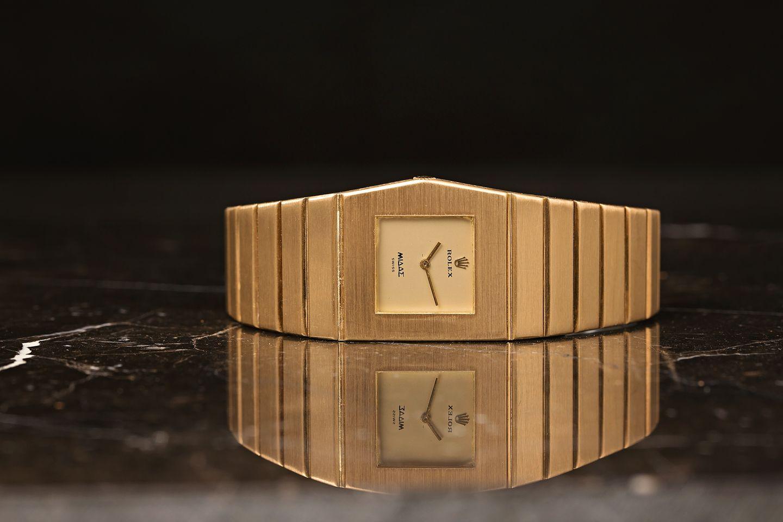 odd-shaped watch