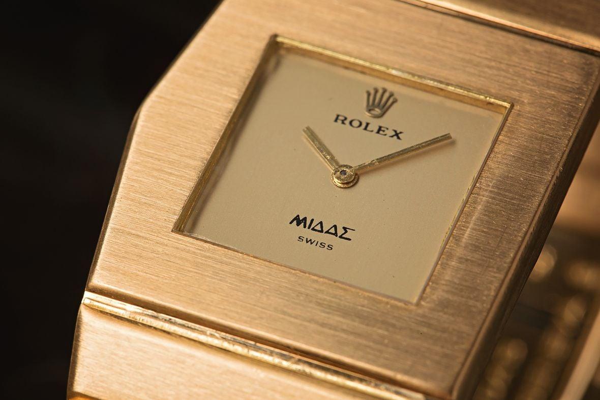 Rolex King Midas Gold Watch